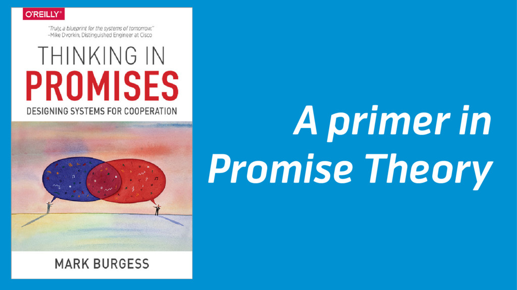 A primer in Promise Theory