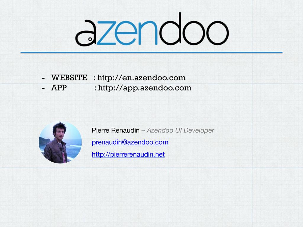 - WEBSITE : http://en.azendoo.com - APP : htt...