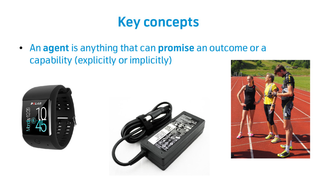 Key concepts ● An agent is anything that can pr...