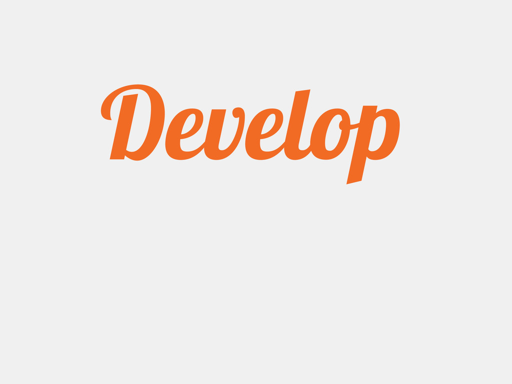Why Develop Products?
