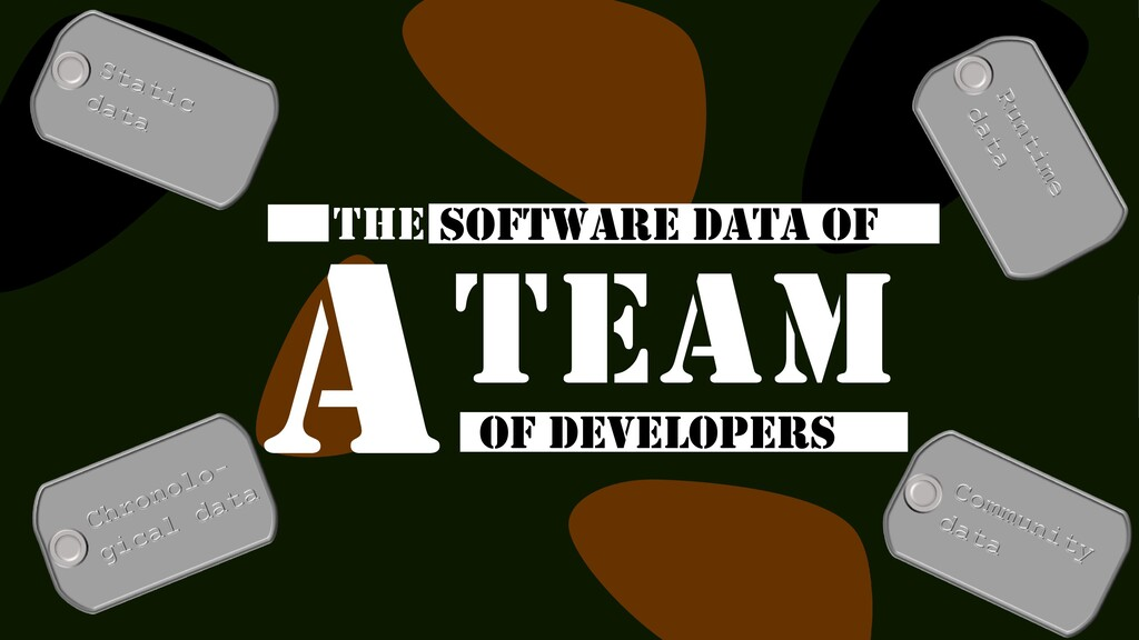 THE SOFTWARE DATA OF OF DEVELOPERS