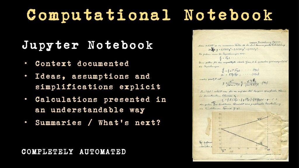 Computational Notebook COMPLETELY AUTOMATED • C...