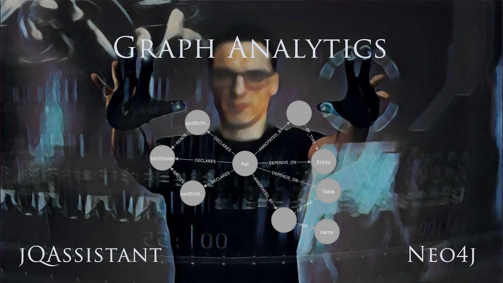 jQAssistant Neo4j Graph Analytics