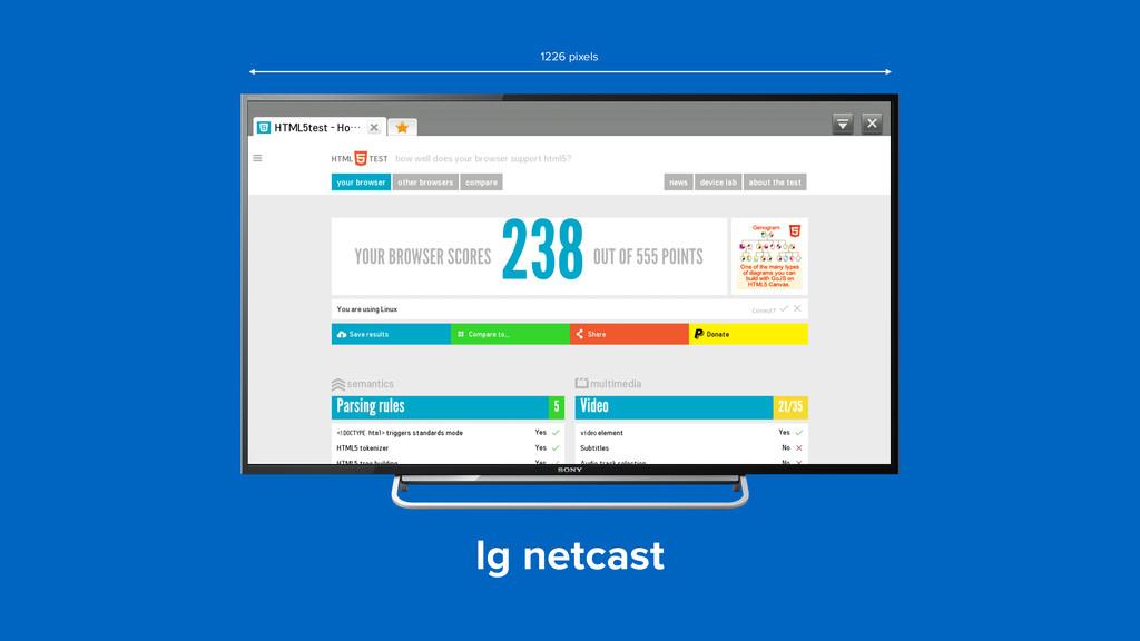lg netcast 1226 pixels