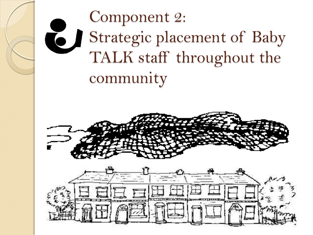 Component 2: Strategic placement of Baby TALK s...