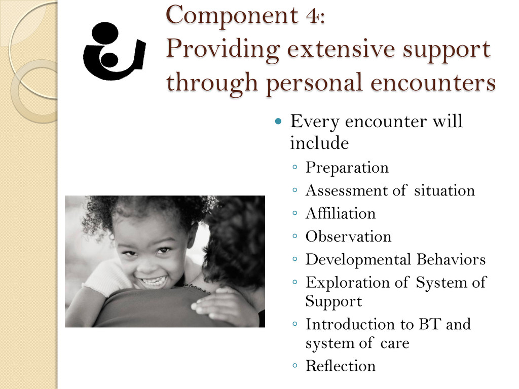 Component 4: Providing extensive support throug...