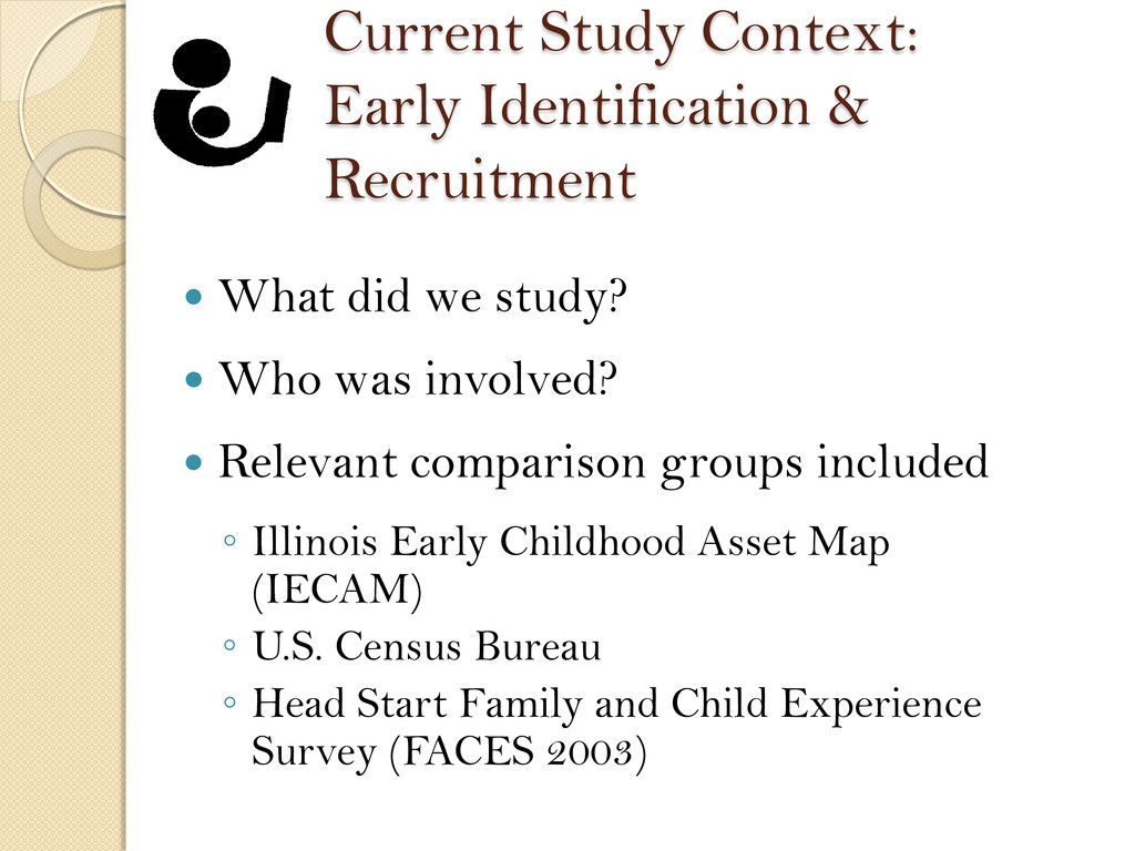 Current Study Context: Early Identification & R...