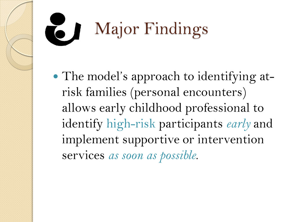 Major Findings  The model's approach to identi...