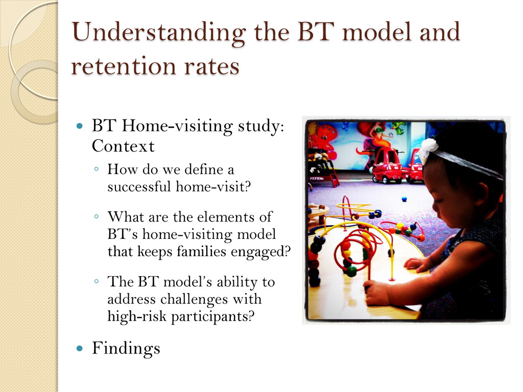 Understanding the BT model and retention rates ...
