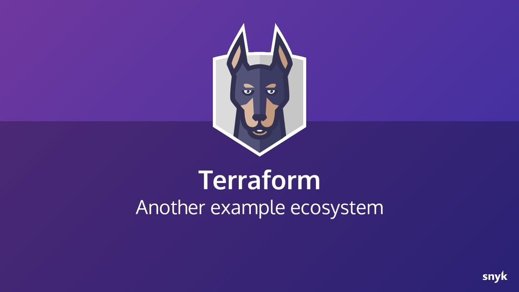 Terraform Another example ecosystem