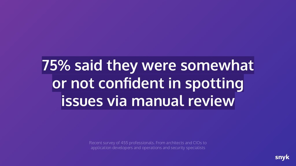 75% said they were somewhat or not confident in ...