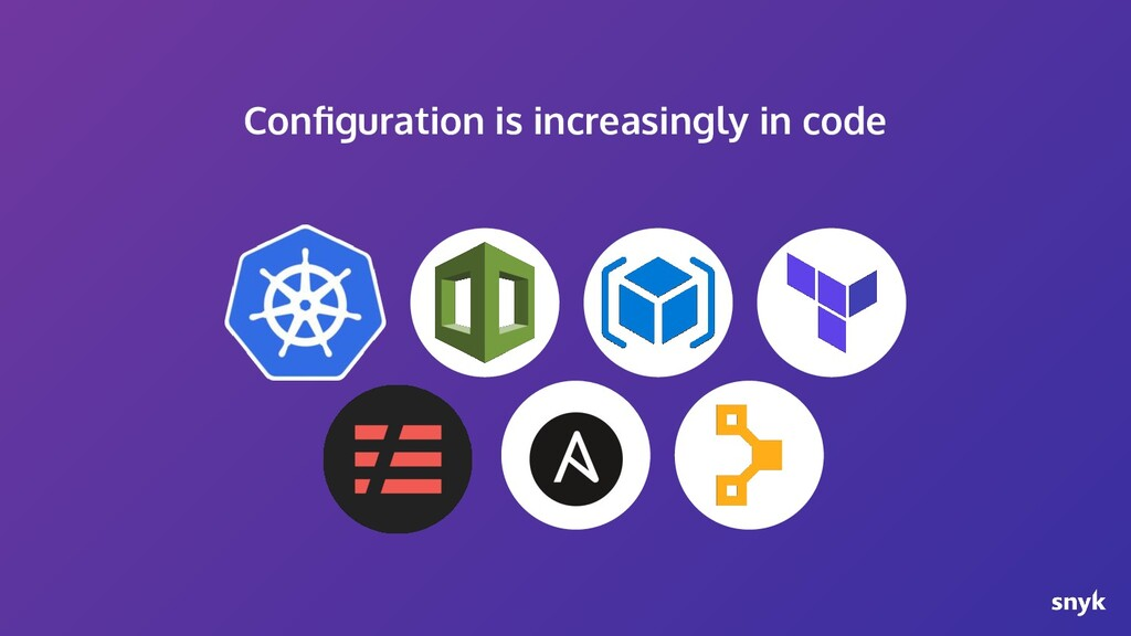 Configuration is increasingly in code