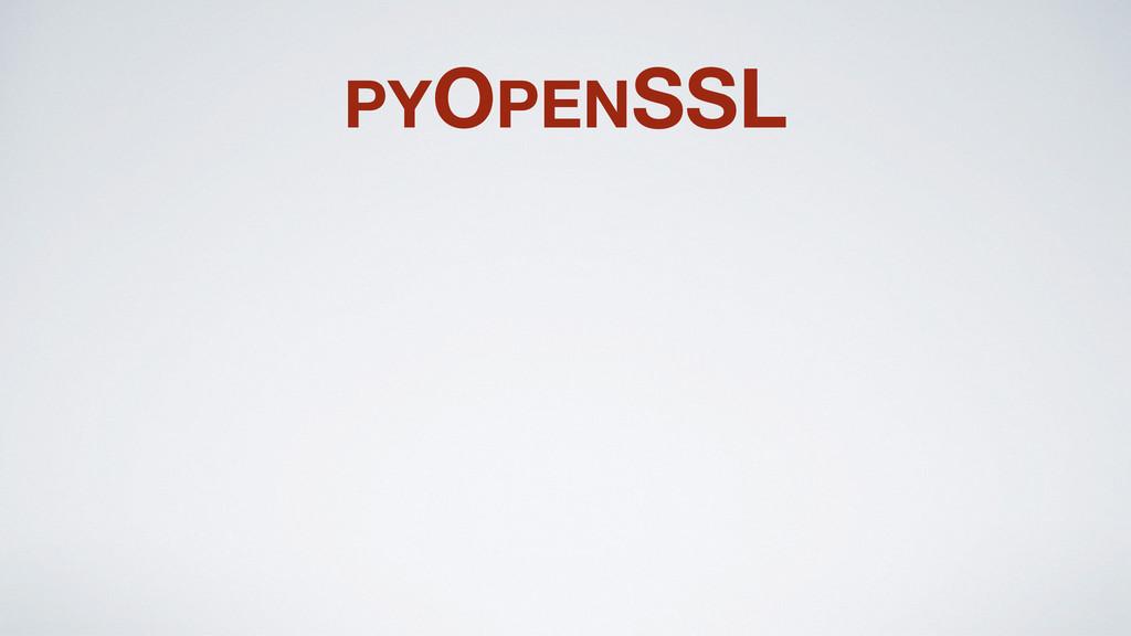 PYOPENSSL
