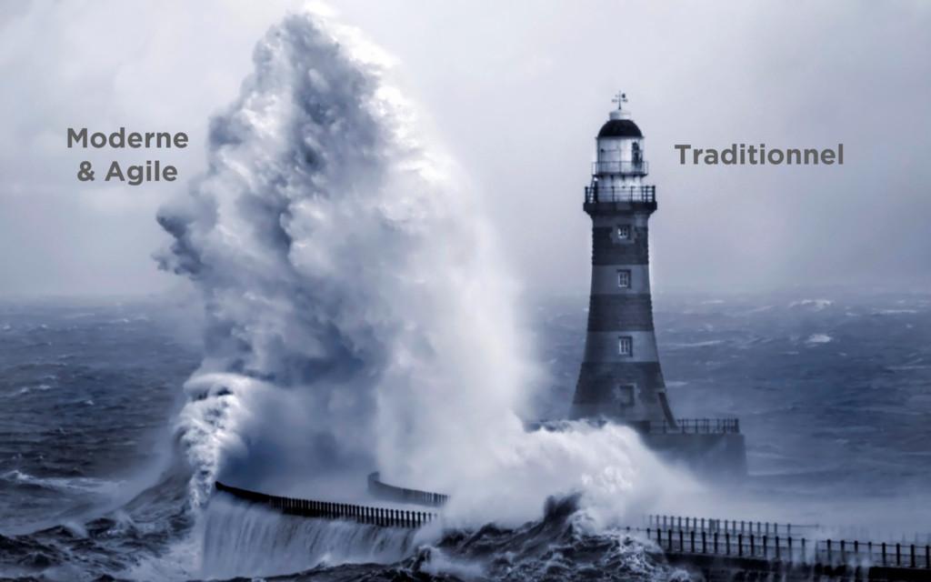 Traditionnel Moderne & Agile