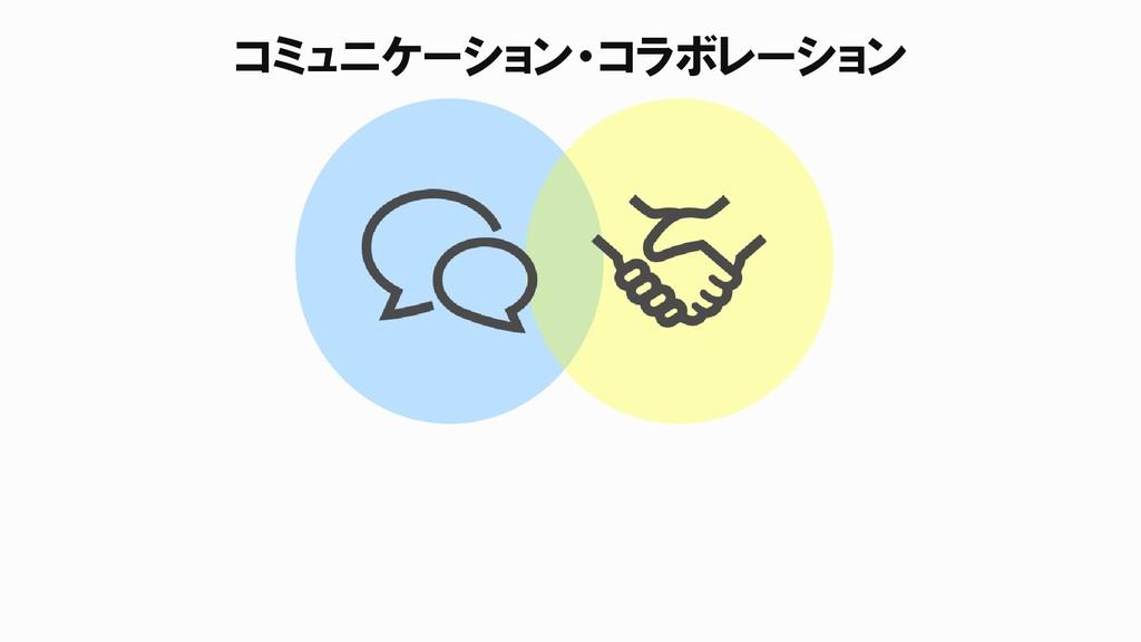 コミュニケーション・コラボレーション