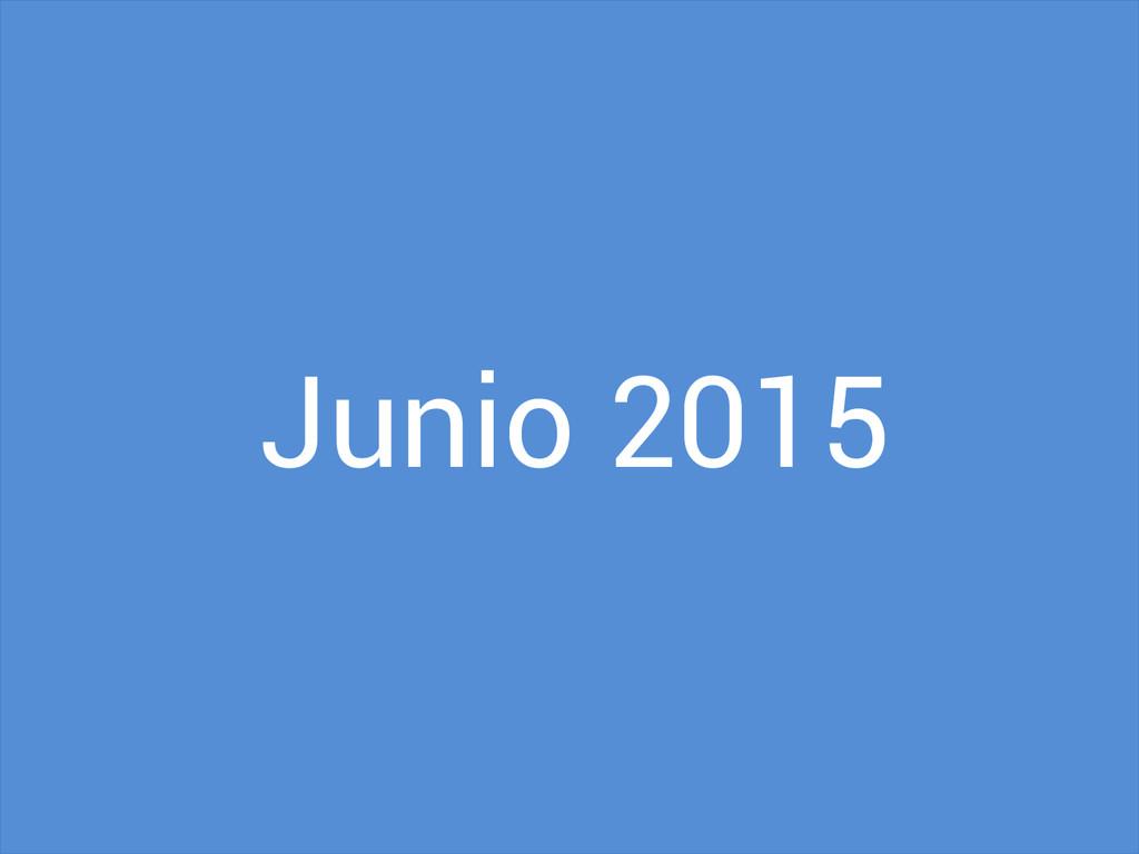 Junio 2015