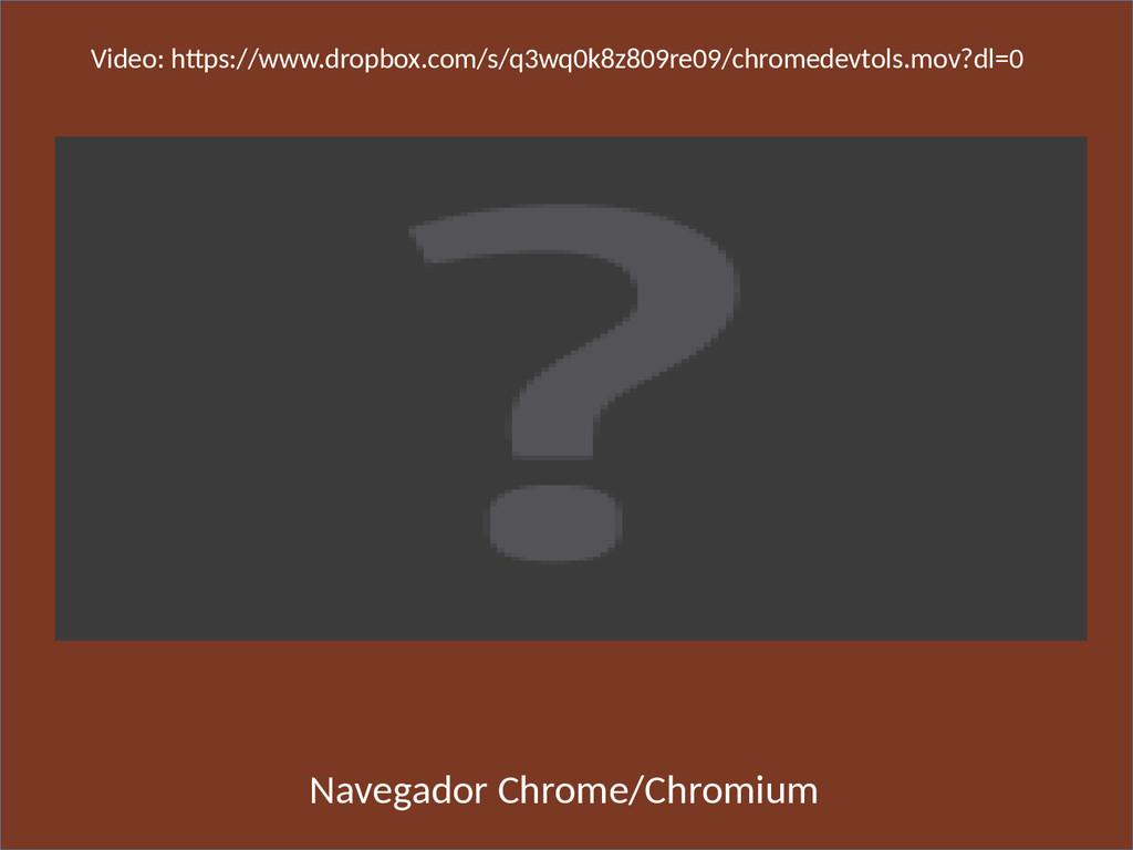 Navegador Chrome/Chromium Video: htps://www.dro...