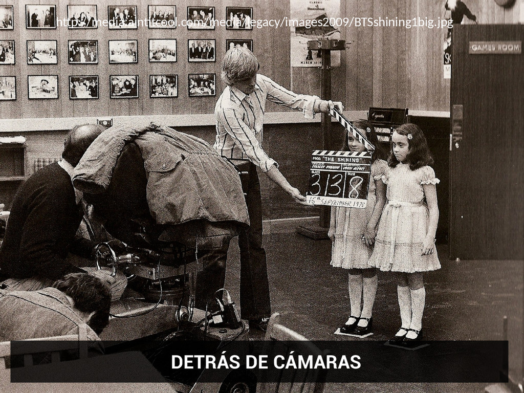 DETRÁS DE CÁMARAS htp://media.ainttcool.com/med...