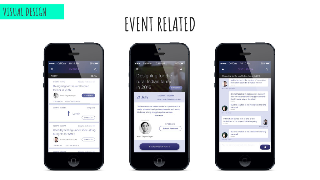 EVENT RELATED VISUAL DESIGN
