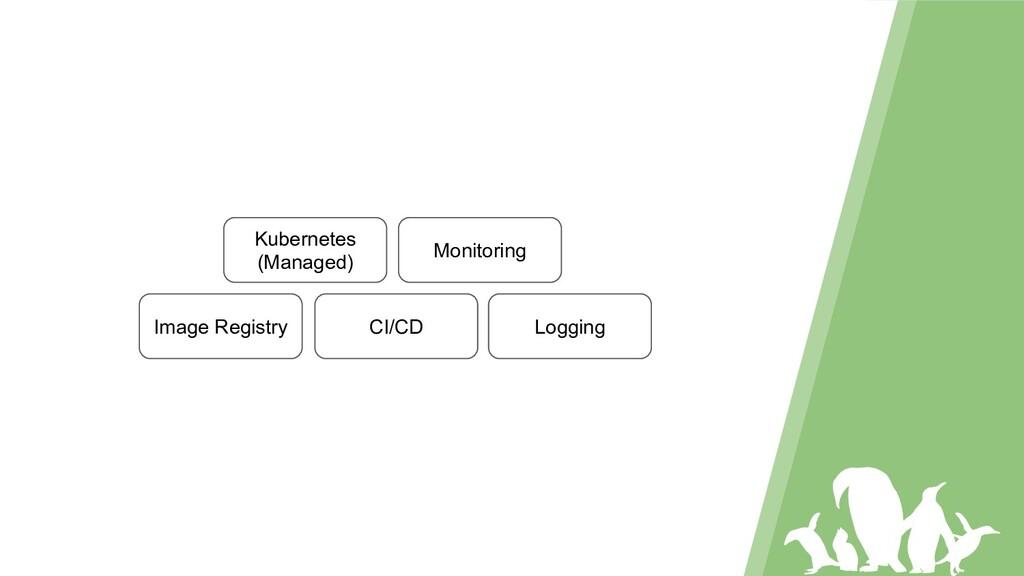 Kubernetes (Managed) Image Registry CI/CD Monit...