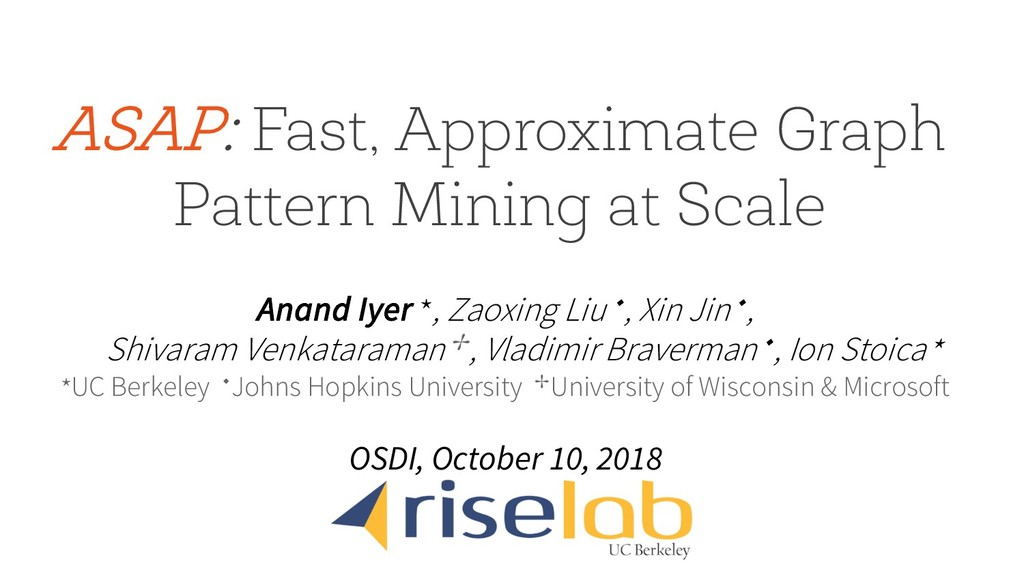 ASAP: Fast, Approximate Graph Pattern Mining at...