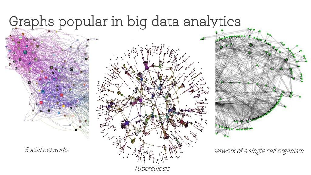 Graphs popular in big data analytics Metabolic ...