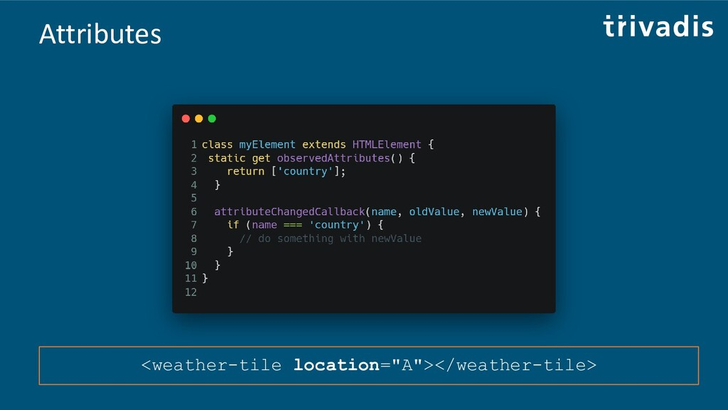 "Attributes <weather-tile location=""A""></weather..."