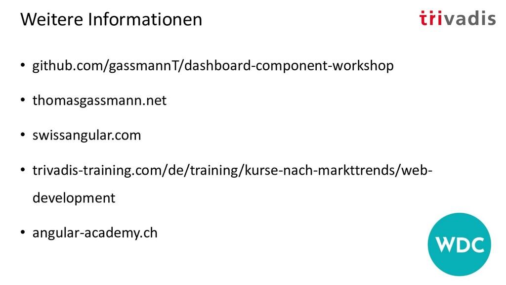 Weitere Informationen • github.com/gassmannT/da...
