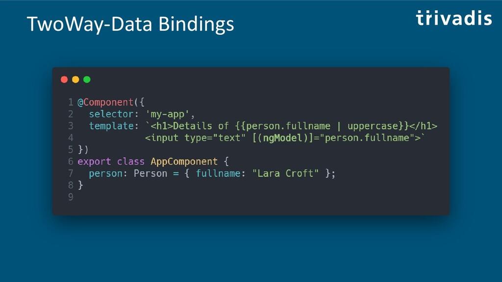 TwoWay-Data Bindings