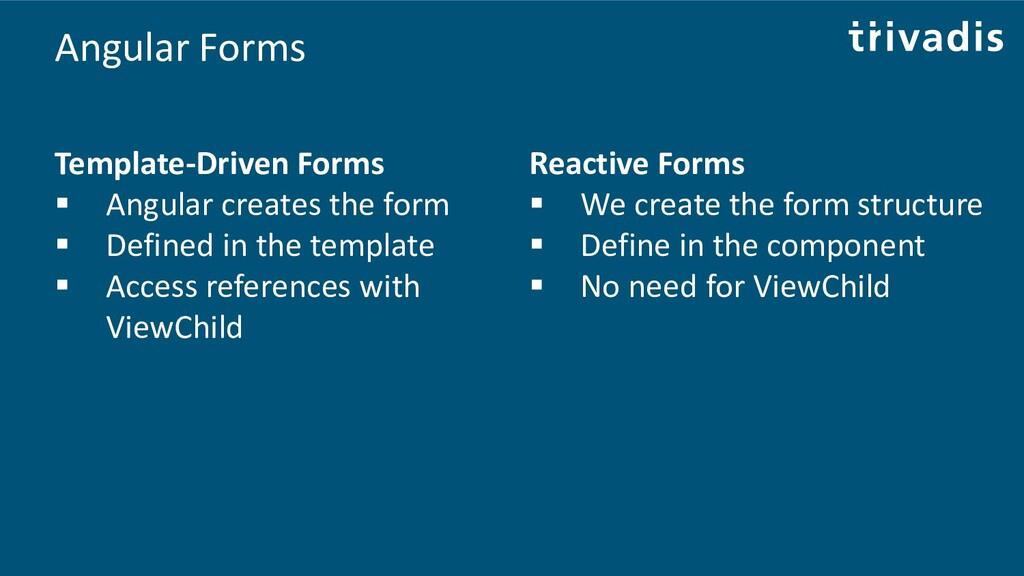 Angular Forms Template-Driven Forms ▪ Angular c...