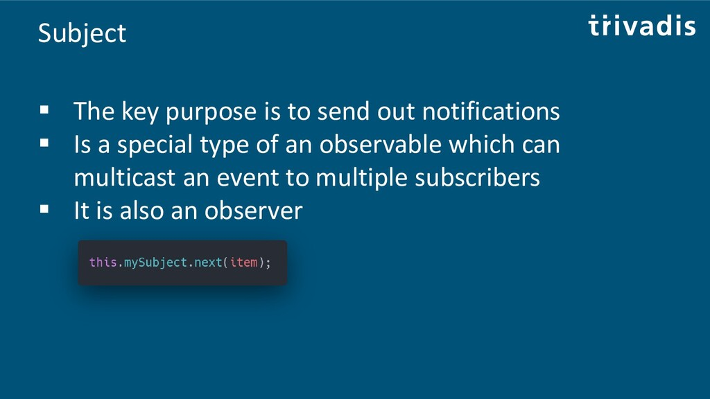 Subject ▪ The key purpose is to send out notifi...