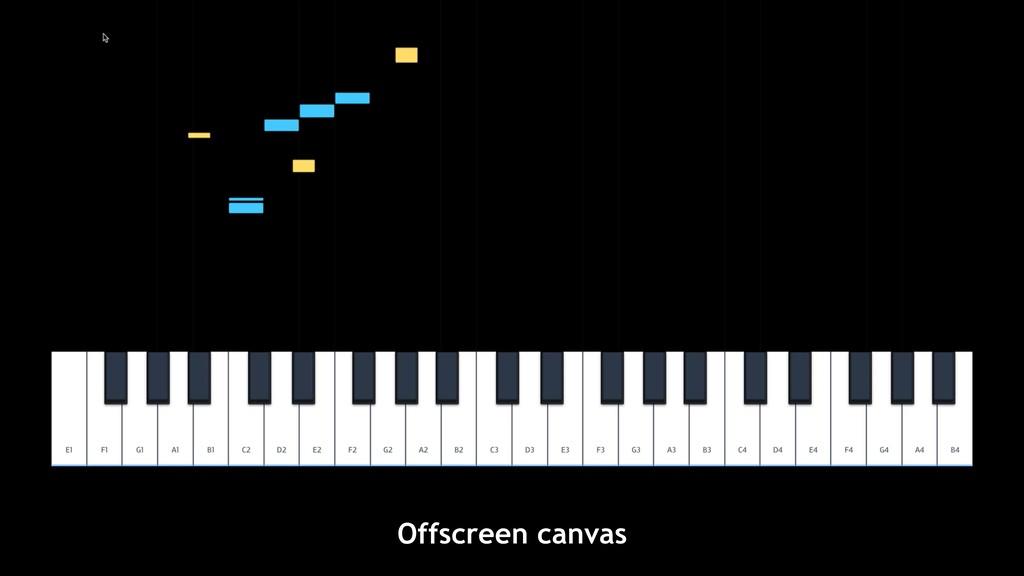 Offscreen canvas