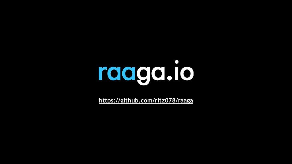 https://github.com/ritz078/raaga