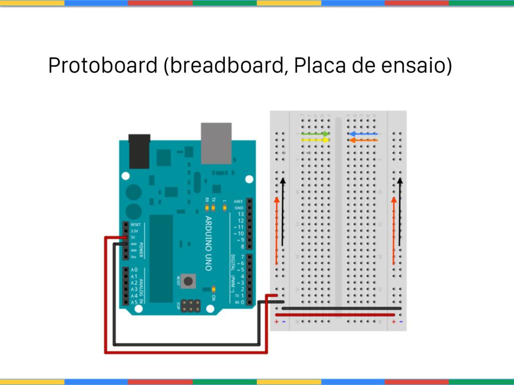 Protoboard (breadboard, Placa de ensaio)