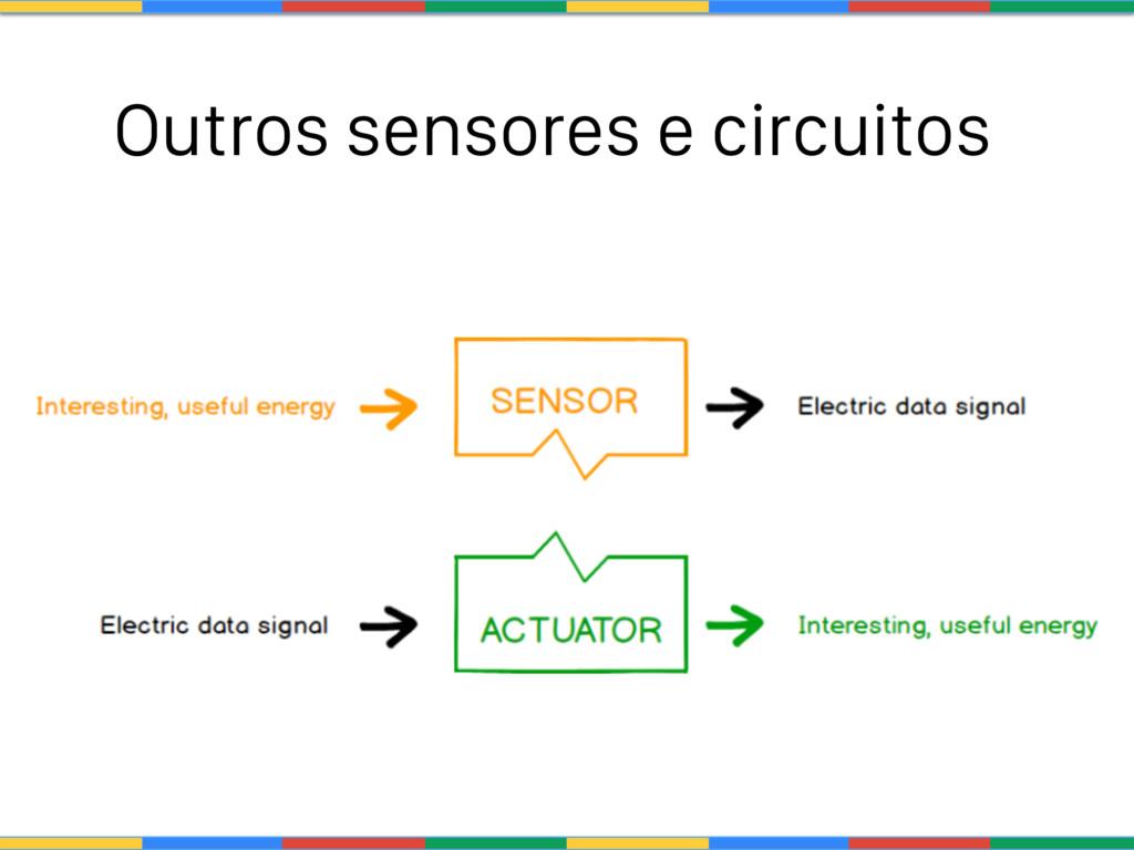 Outros sensores e circuitos