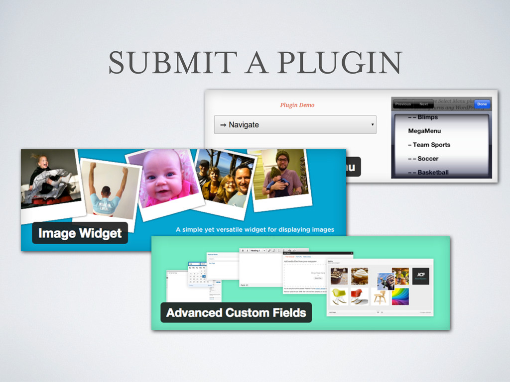 SUBMIT A PLUGIN