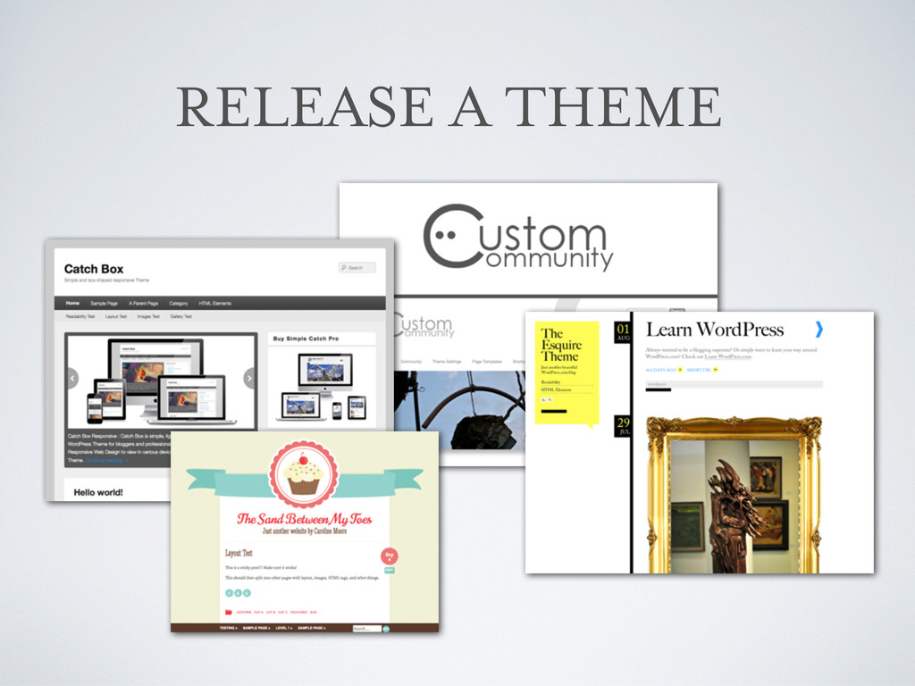 RELEASE A THEME