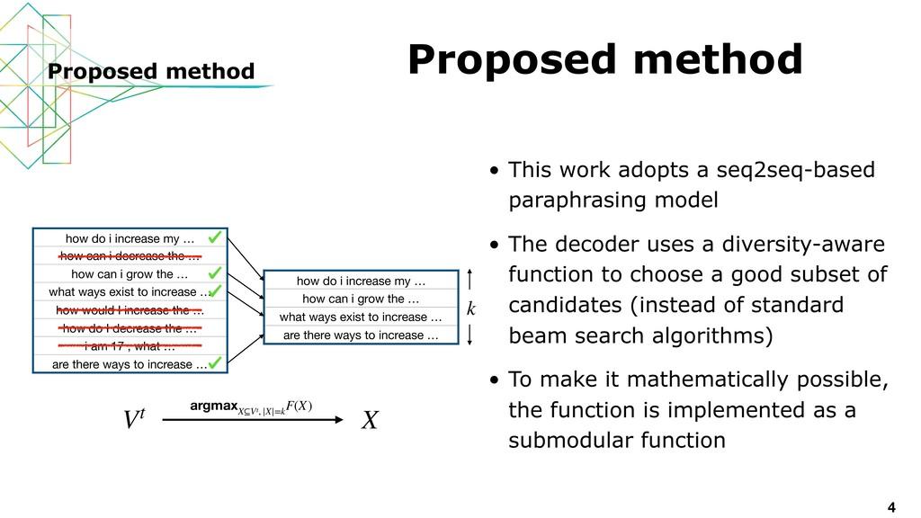 • This work adopts a seq2seq-based paraphrasing...