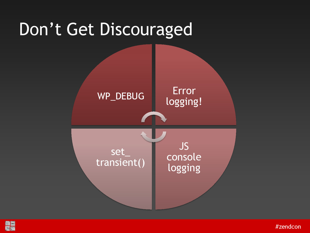 #zendcon Don't Get Discouraged WP_DEBUG Error l...