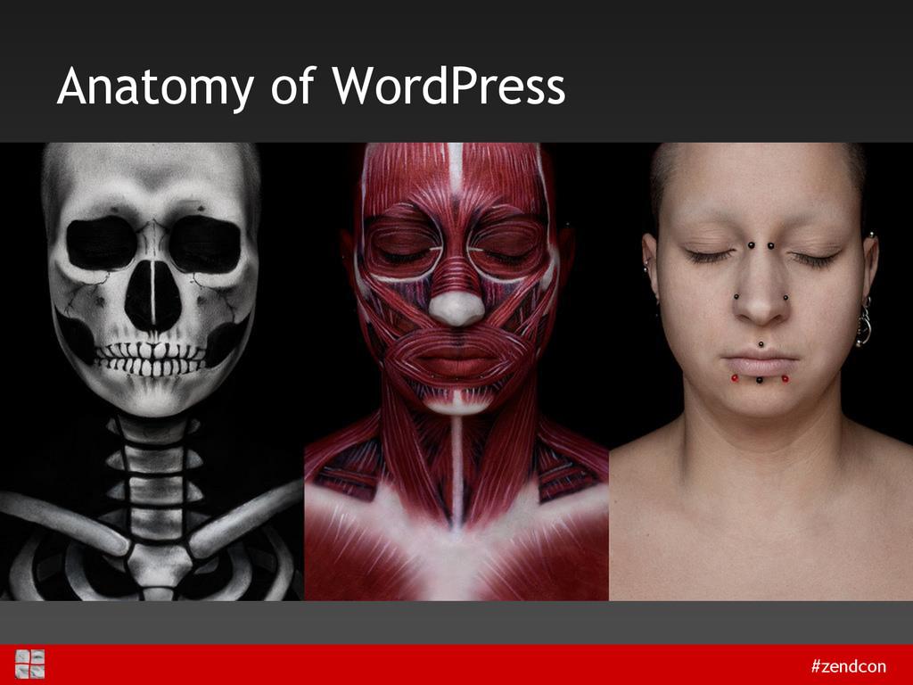 #zendcon Anatomy of WordPress