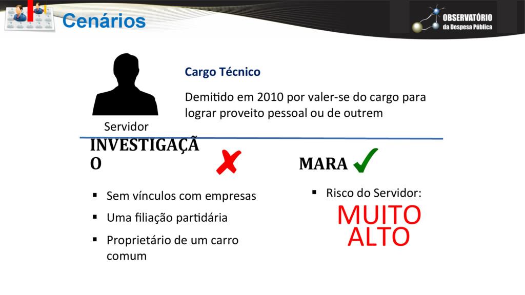 Servidor Cargo Técnico Demi?do em 2010 por vale...