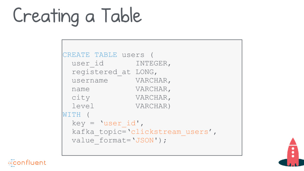 CREATE TABLE users ( user_id INTEGER, registere...