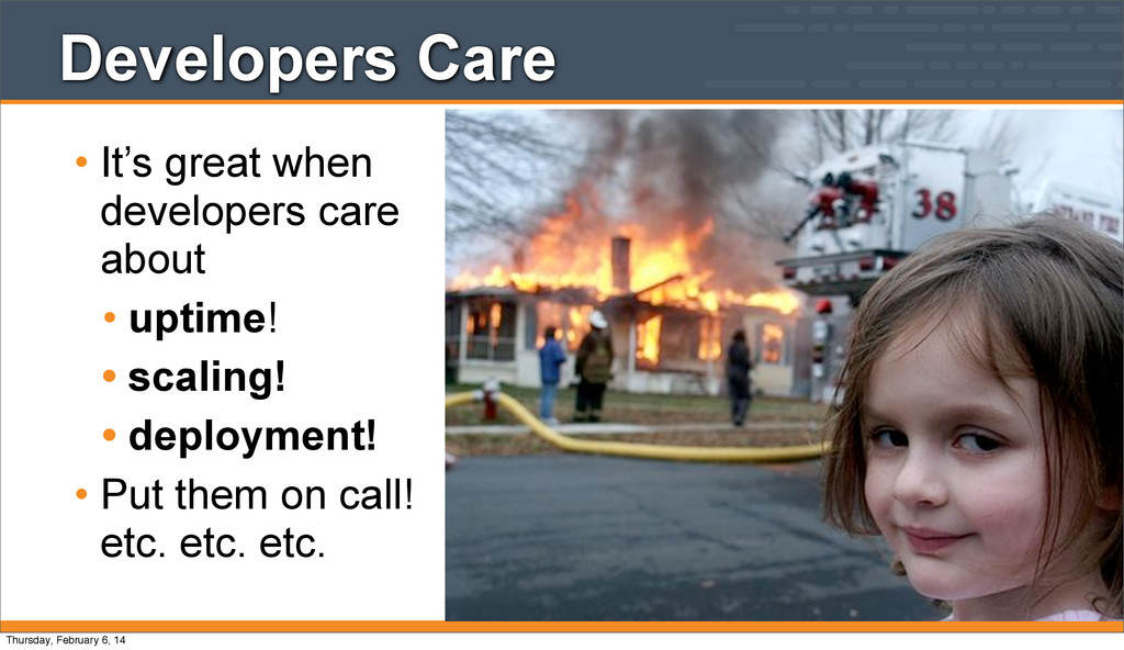 Developers Care • It's great when developers ca...