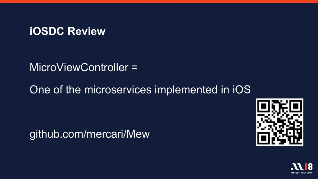 iOSDC Review MicroViewController = One of the m...