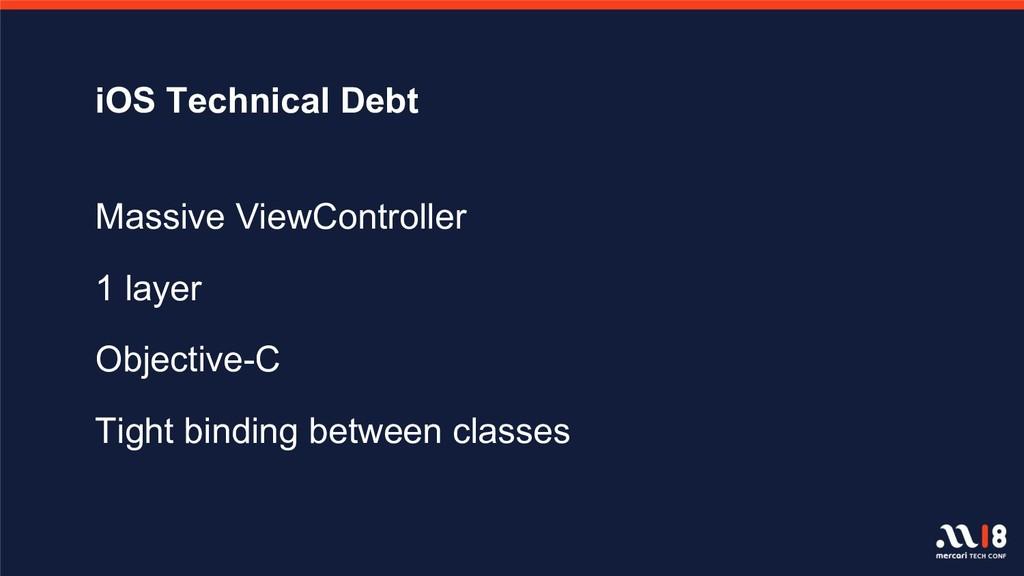 iOS Technical Debt Massive ViewController 1 lay...