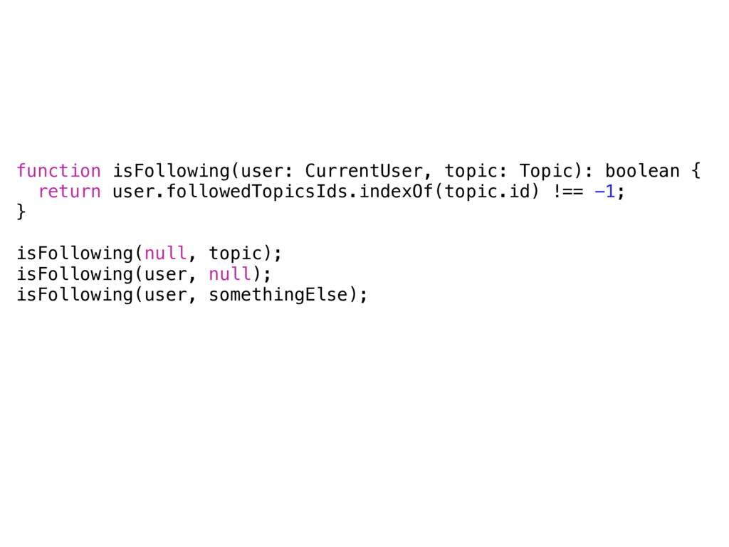 function isFollowing(user: CurrentUser, topic: ...