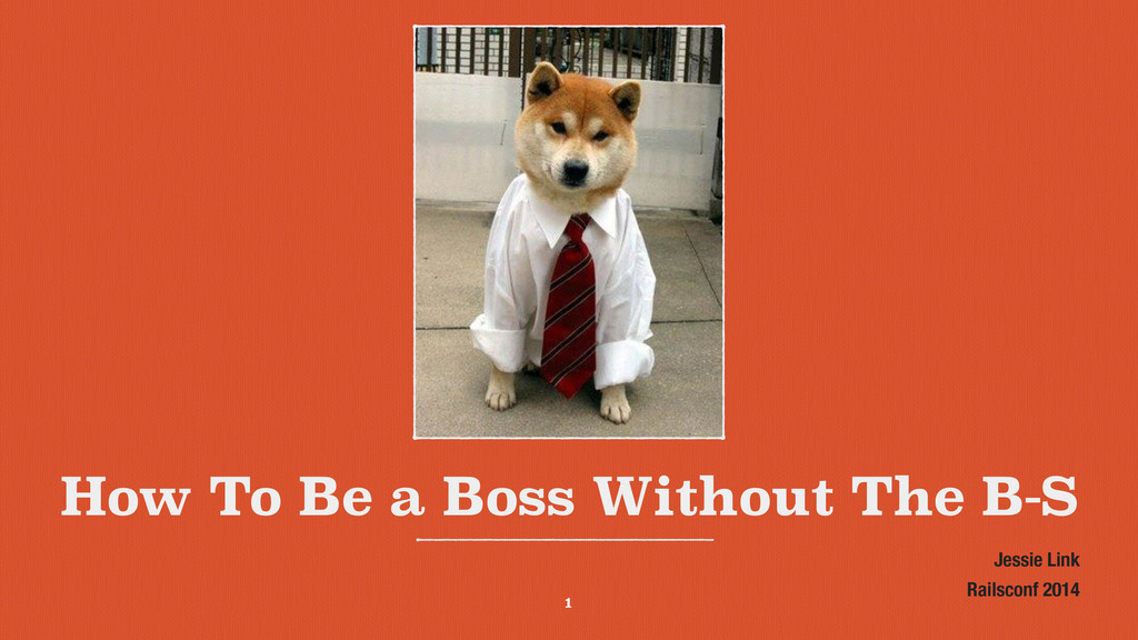 How To Be a Boss Without The B-S Jessie Link Ra...