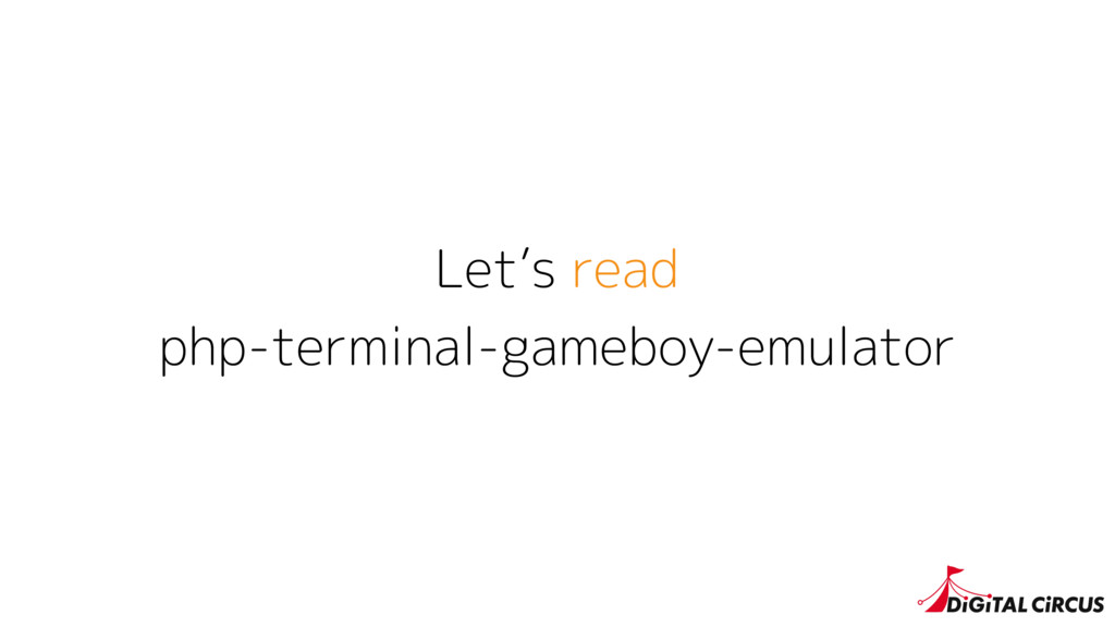 Let's read php-terminal-gameboy-emulator