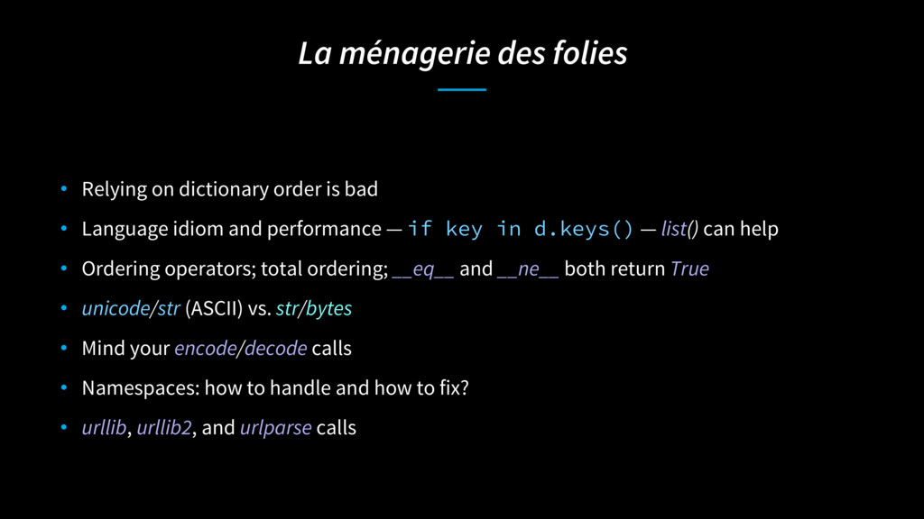 La ménagerie des folies • Relying on dictionary...