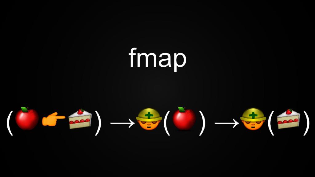 fmap ( ) → ( ) → ( )